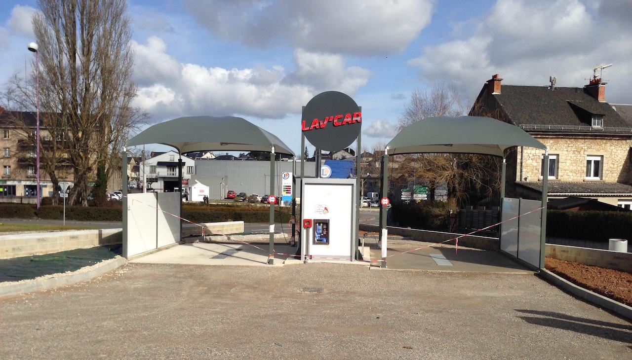 station de lavage Rodez