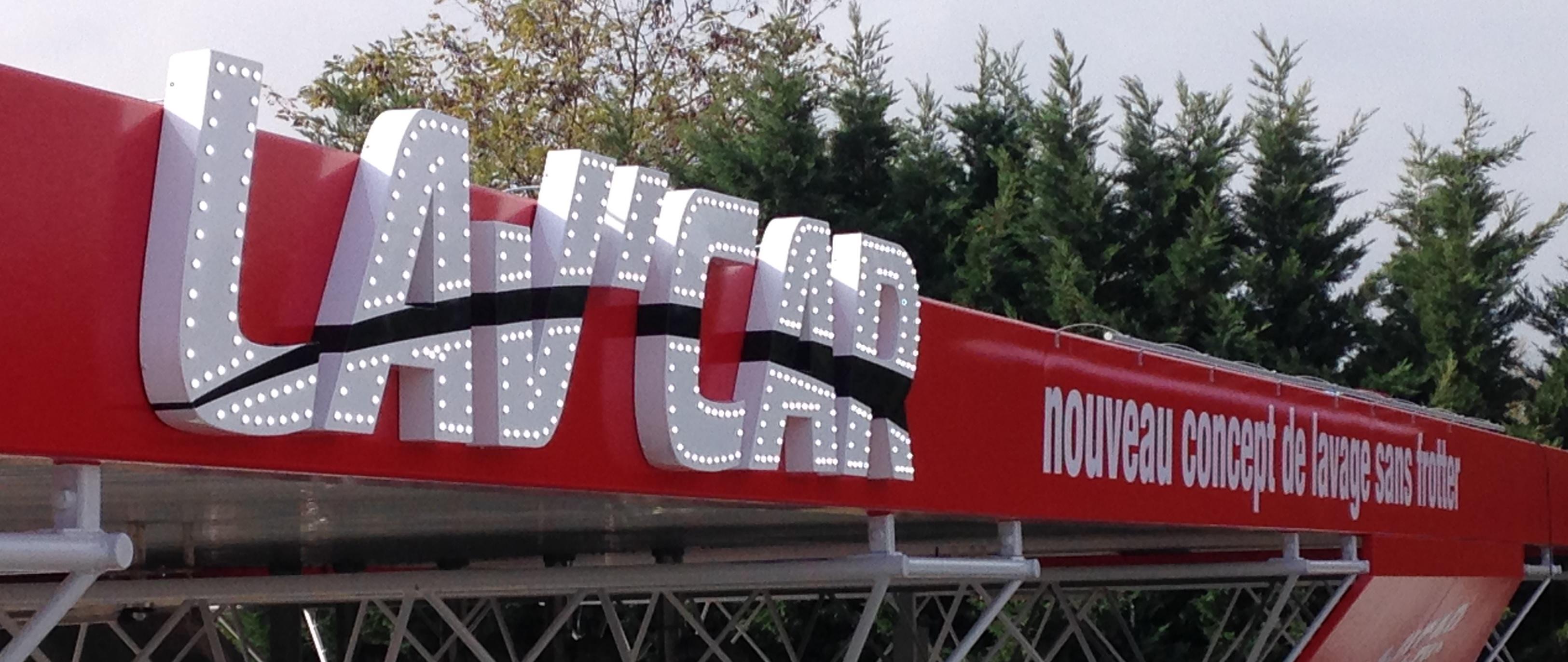 logo led lav car