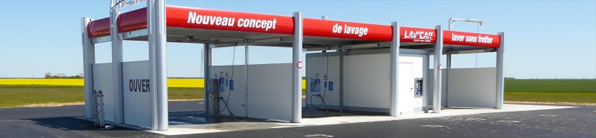 Création de station de lavage avec LAV'CAR