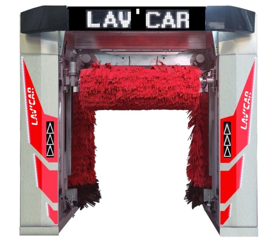 portique de lavage inox