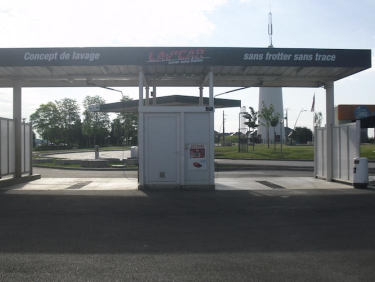 station de lavage artenay