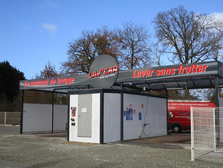 station de lavage Elven Morbihan