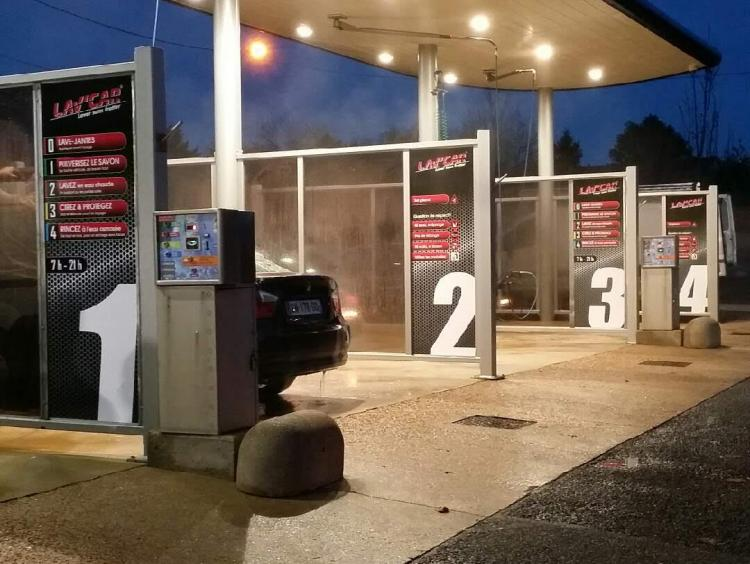 rénovation station de lavage